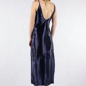 J.O.A. Dresses - J.O.A. Satin Slip Midi Dress NWT